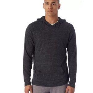 NWOT Men's Alternative Apparel Gray Hoodie